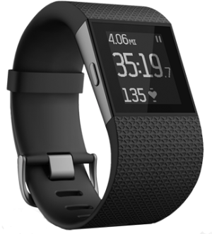 Fitbit Surge - Black Large