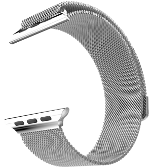HOCO Milanese Apple watch band 38mm - Zilver