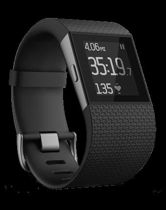 Fitbit Surge - Black Large