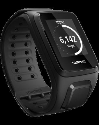 TomTom Spark 3 GPS Fitnesshorloge (zwart) - Large bandje