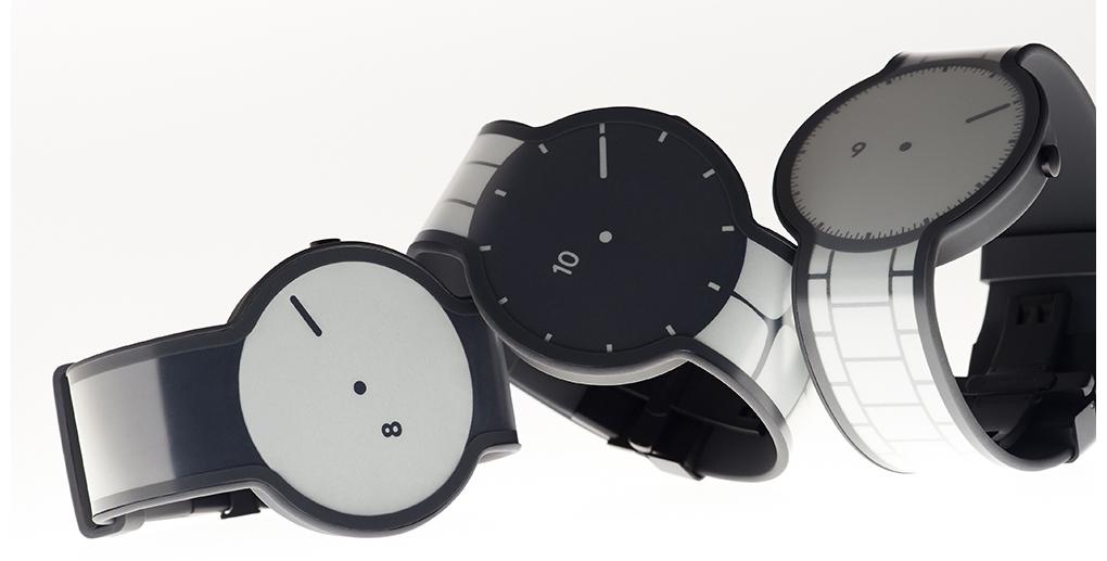 Sony brengt horloge dat van uiterlijk kan veranderen volgende week op de markt