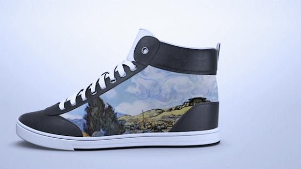 Deze sneakers kun je op elk moment een nieuw design geven